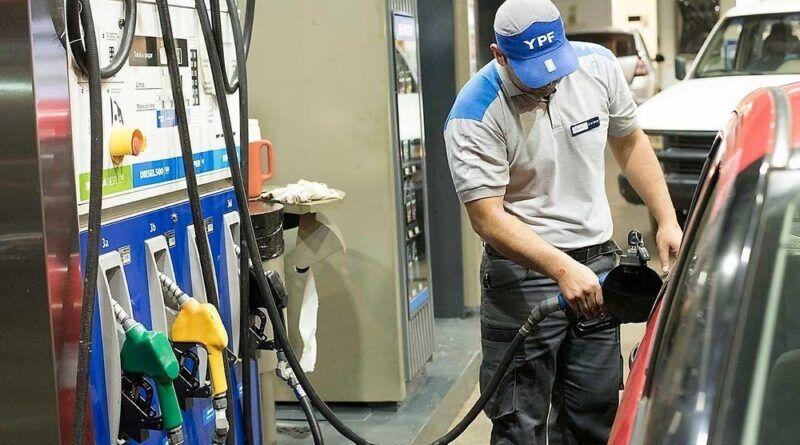 YPF aumentó el precio de los combustibles a partir de hoy