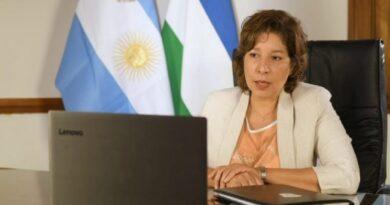 La Gobernadora Carreras cumplirá aislamiento preventivo