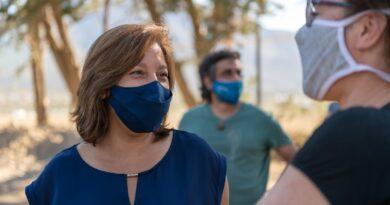 Por prevención, la Gobernadora Carreras se realizó un nuevo testeo Covid con resultado negativo