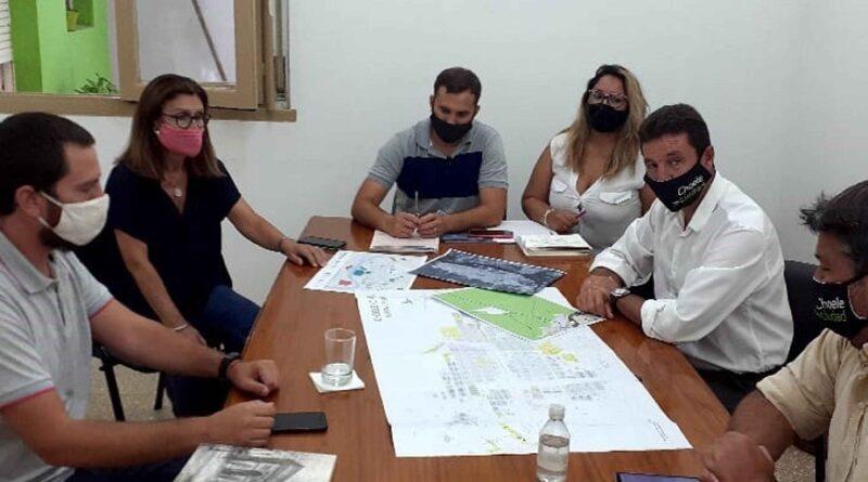 Choele Choel: Provincia y Municipio evalúan la aplicación del programa RN Suelo Urbano