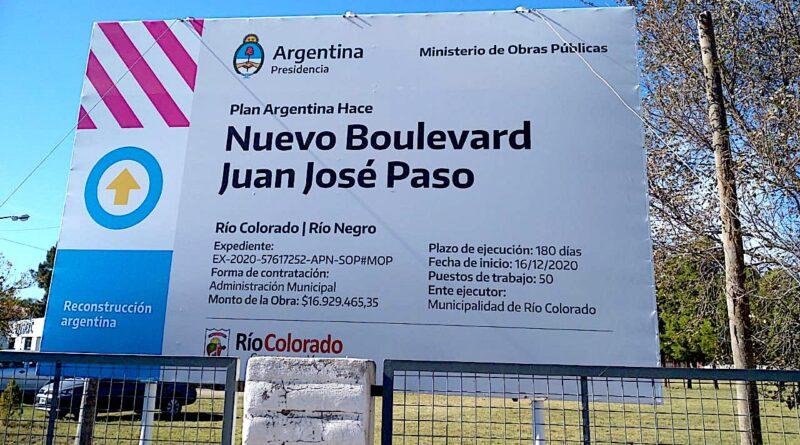 Martín Doñate confirmó 28 millones para obras en Río Colorado y Lamarque