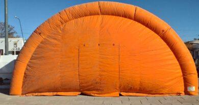 Colocarán una globa para atención de pacientes con síntomas de Covid-19 en Choele