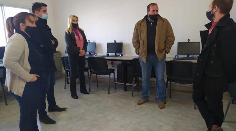 Próximamente se inaugurará el aula de capacitaciones virtuales en el CIC de Luis Beltrán