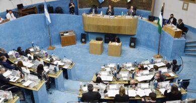 Repudio en la Legislatura por los atentados en la zona andina